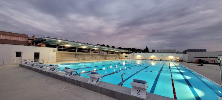Création d'une piscine municipale